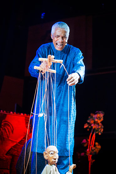 Sundjata The Lion Prince  - a musical performance with dance and puppets