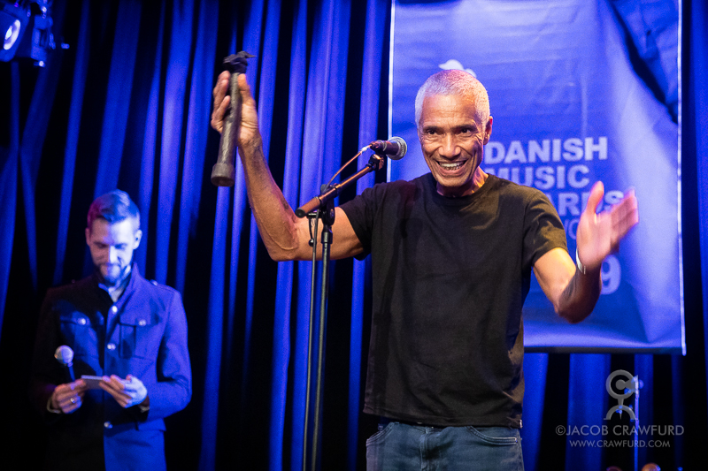 DMA World award for Moussa Diallo. Photo by Jacob Crawfurd